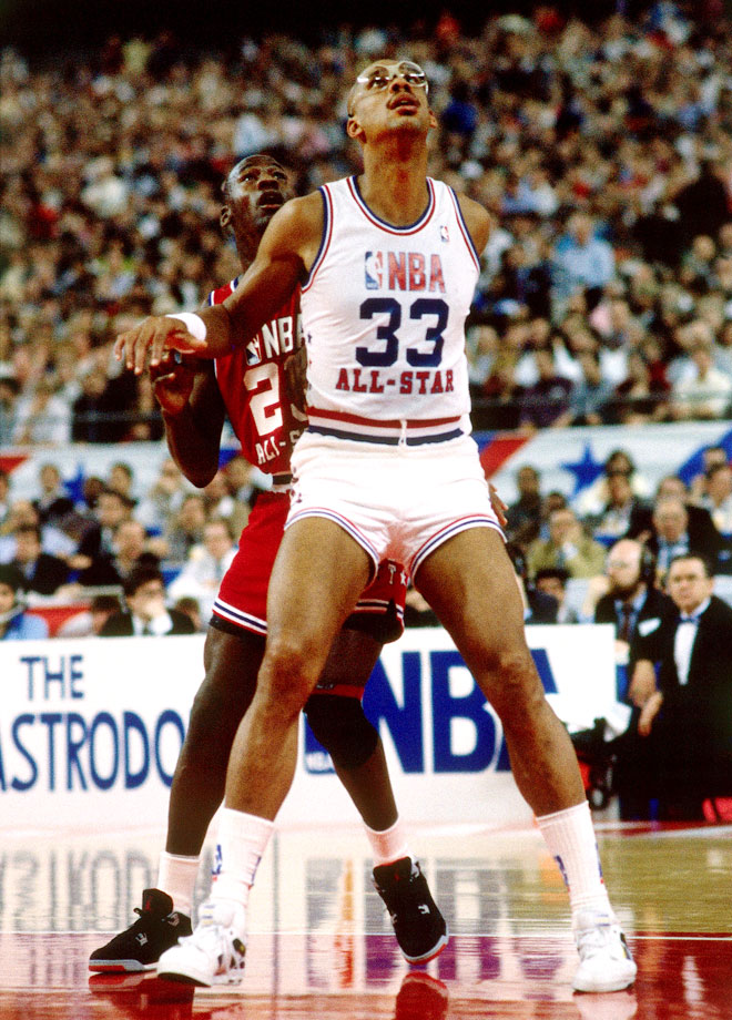 with Michael Jordan