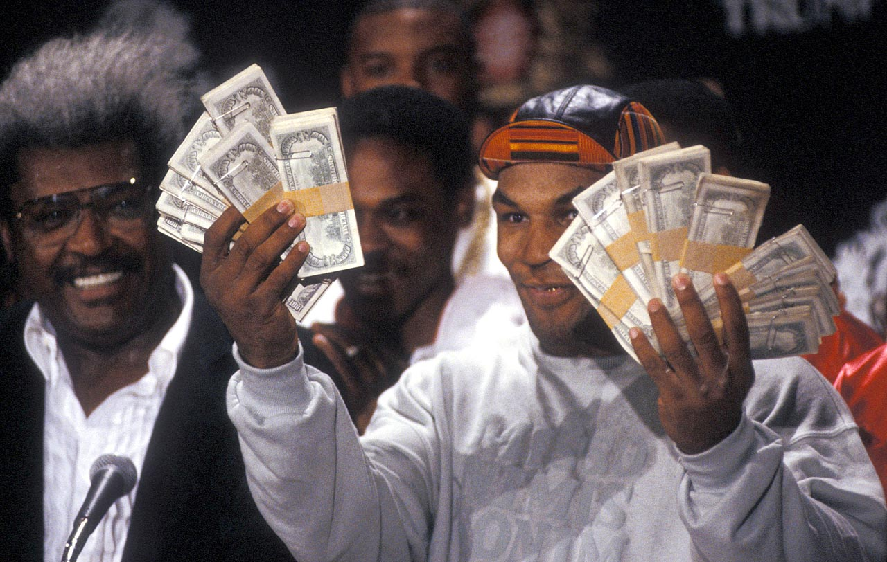Mike Tyson Walking To The Ring