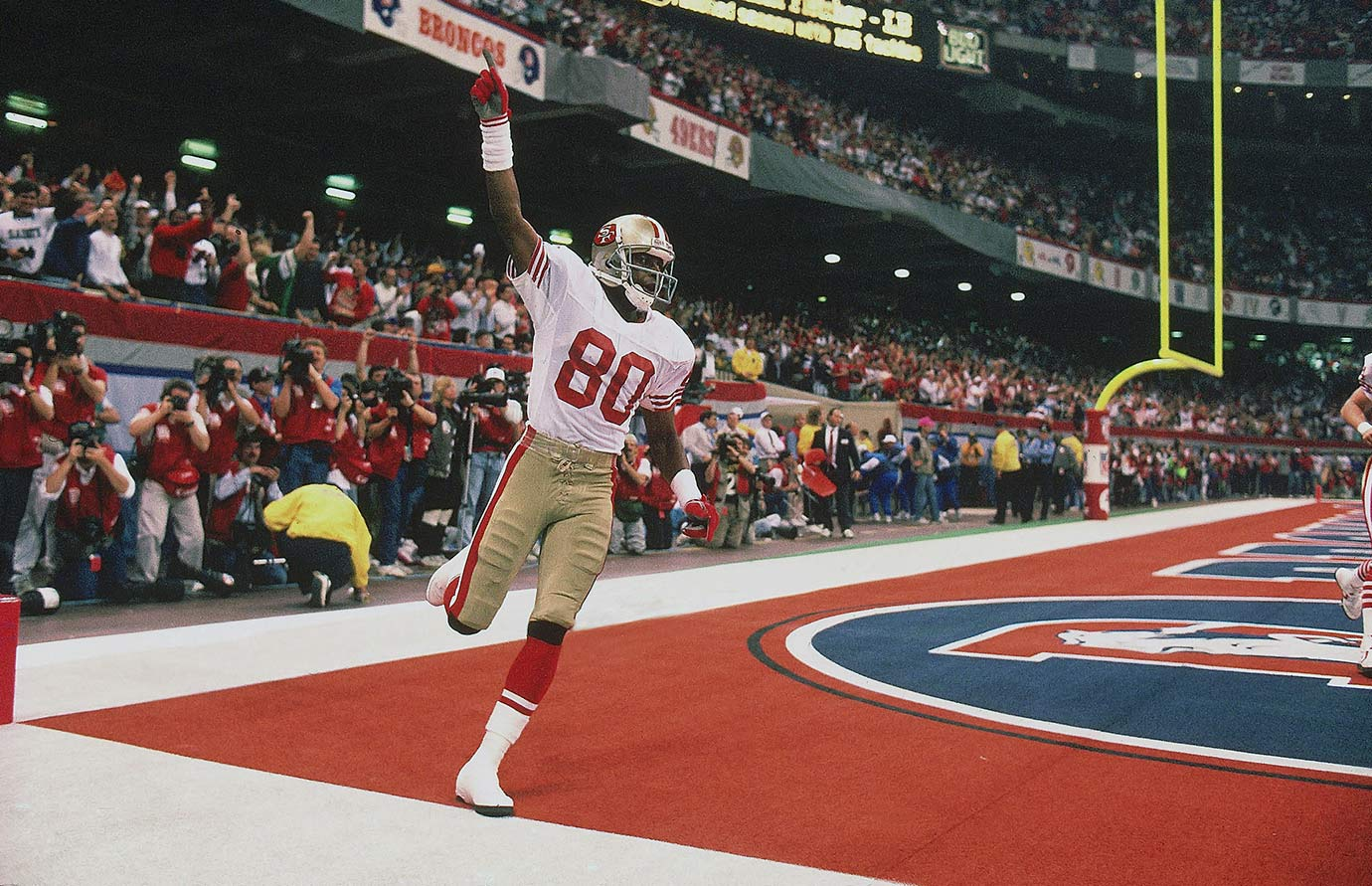 Jan. 28, 1990 — Super Bowl XXIV (San Francisco 49ers vs. Denver Broncos)