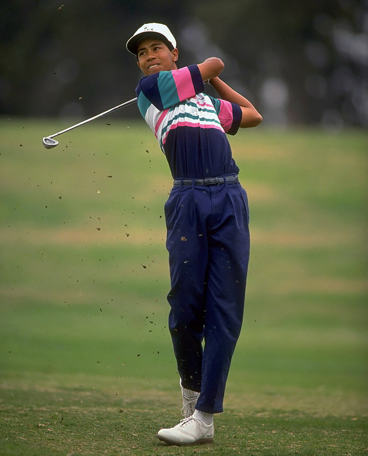 rare si photos of tiger woods