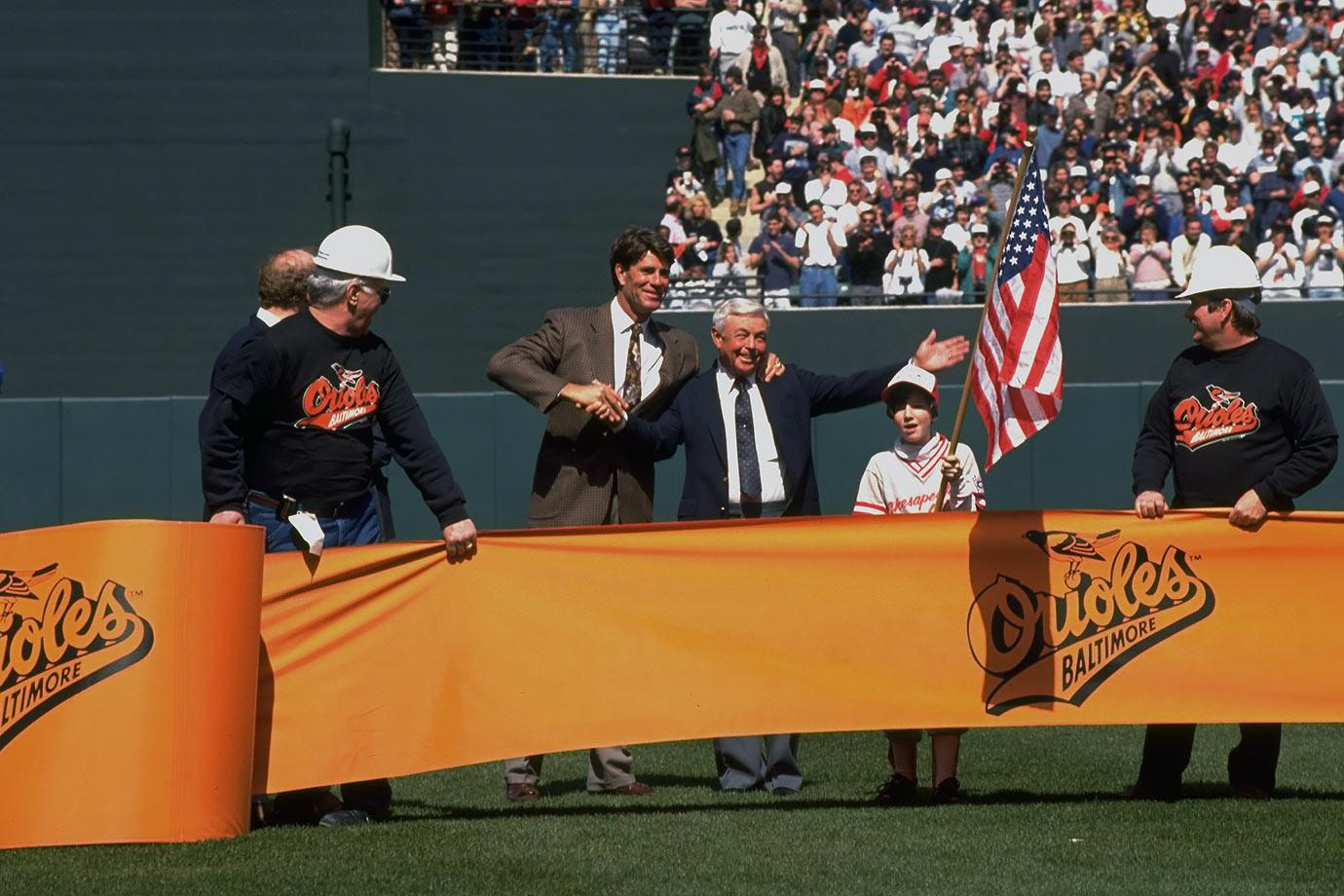 April 3, 1992 — Baltimore Orioles vs. Cleveland Indians