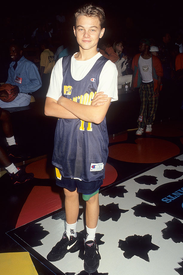 Leonardo DiCaprio attends MTV's Second Annual Rock N' Jock B-Ball Jam - Celebrity Charity Basketball Game at the Pauley Pavilion, UCLA in Westwood, Calif.