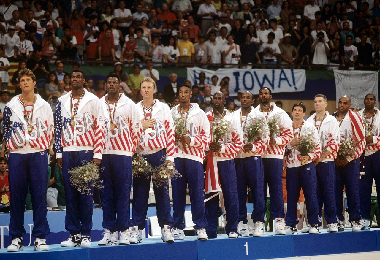 1992 Summer Olympics Gold Medal ceremony