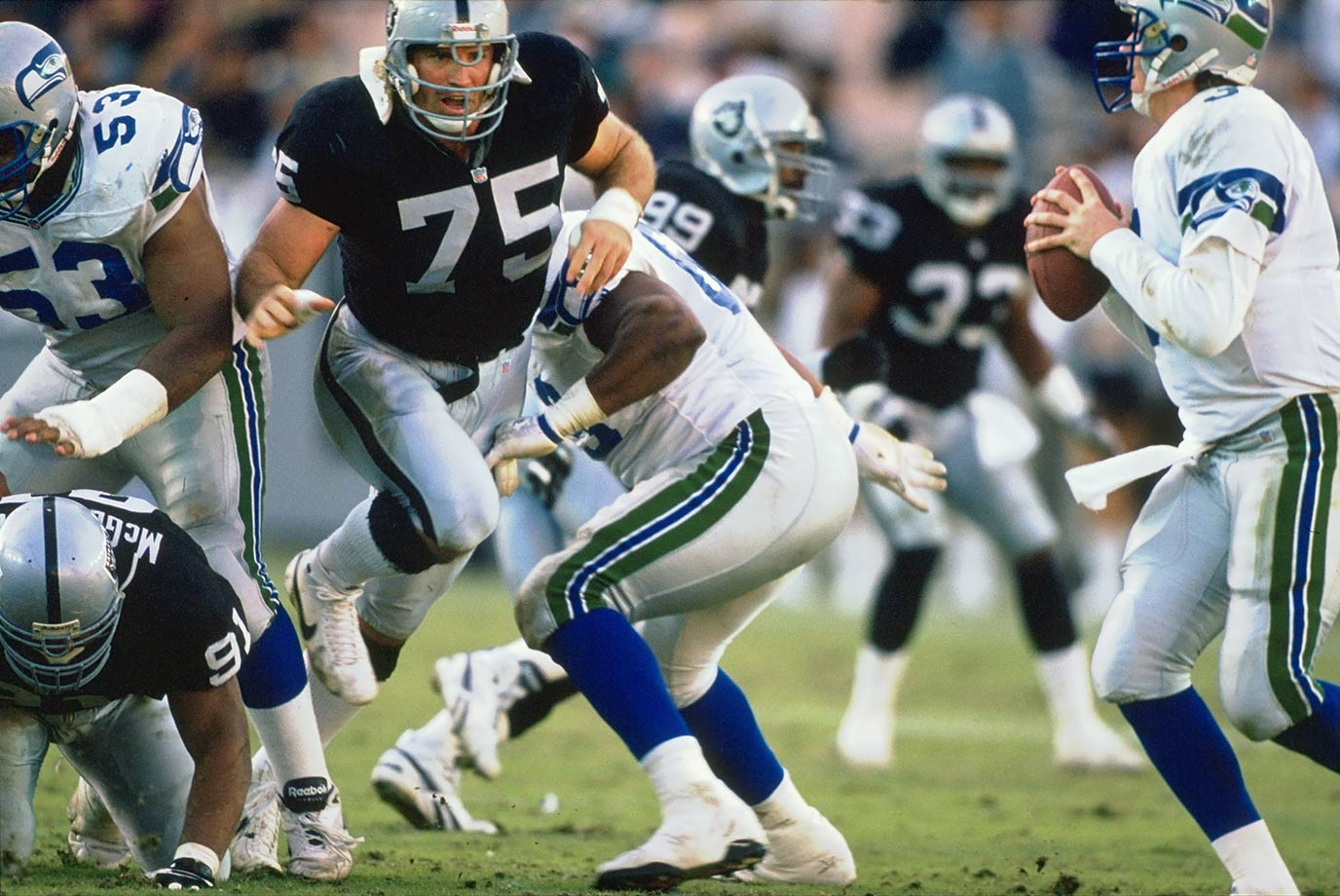 Dec. 12, 1993 — Los Angeles Raiders vs. Seattle Seahawks