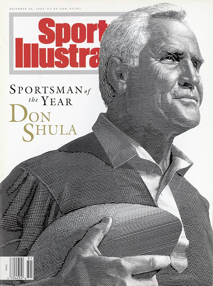 Dec. 20, 1993 SI Sportsman of the Year cover