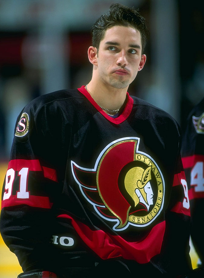 Daigle's speed and scoring potential most often produced frustration (he never topped 26 goals or 51 points in a season) on the part of the seven teams that employed him during his 10-year NHL career. — Notable picks: No. 2: Chris Pronger, D, Hartford Whalers | No. 4: Paul Kariya, LW, Anaheim Ducks | No. 23: Todd Bertuzzi, RW, New York Islanders | No. 227: Pavol Demitra, C, Ottawa Senators | No. 250: Kimmo Timonen, D, Los Angeles Kings