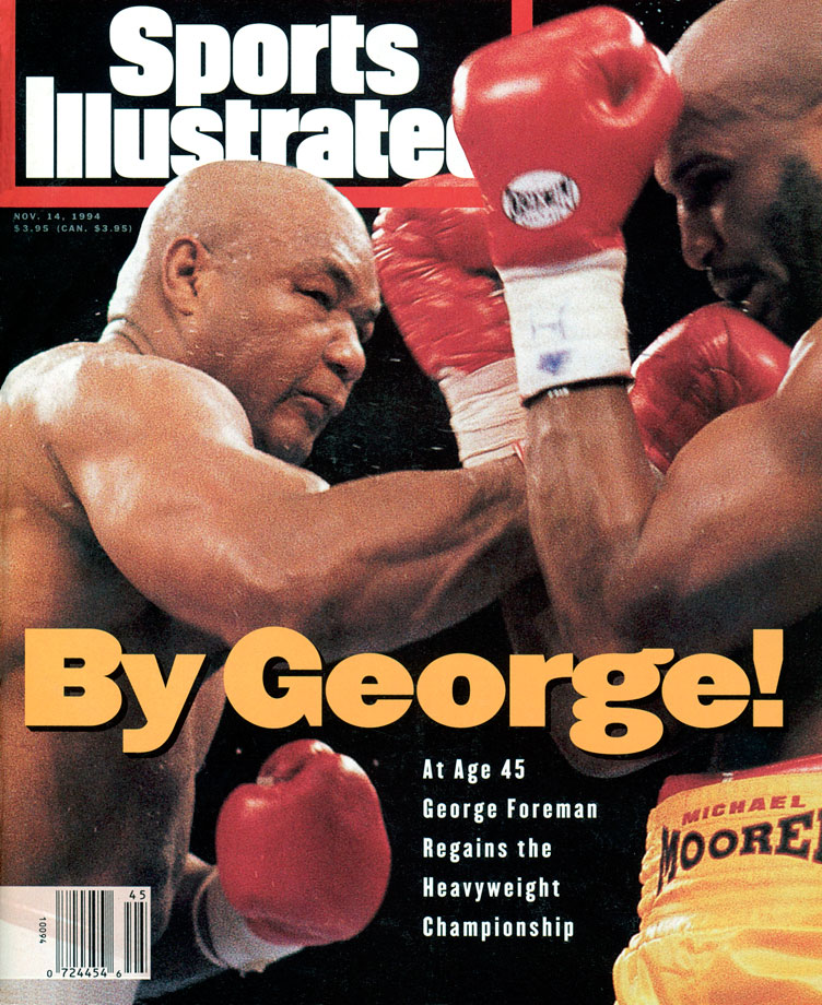 George Foreman and Michael Moorer