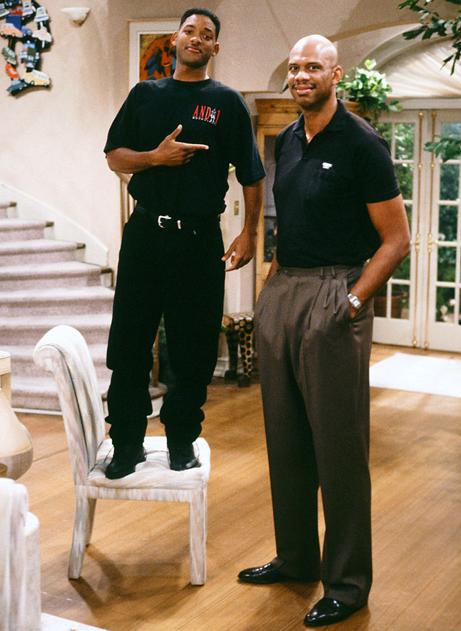 "with Will Smith on ""The Fresh Prince of Bel-Air"""