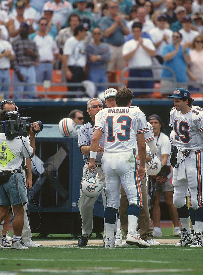 Nov. 12, 1995 — Miami Dolphins vs. New England Patriots