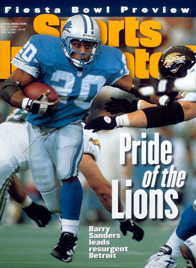 The Lions won their final seven games to lock up a playoff berth for the third consecutive year. Barry Sanders ran for 1,500 yards that year while Herman Moore and Brett Perriman became the first teammates to each catch more than 100 passes in a season. Detroit lost to Philadelphia in a wild card game.
