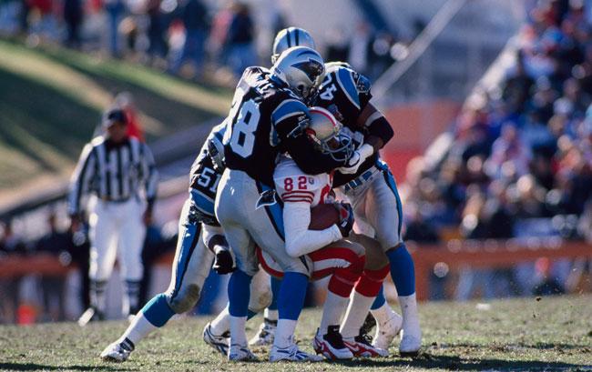 Panthers #35 Mike Tolbert Blue Alternate Elite Jersey