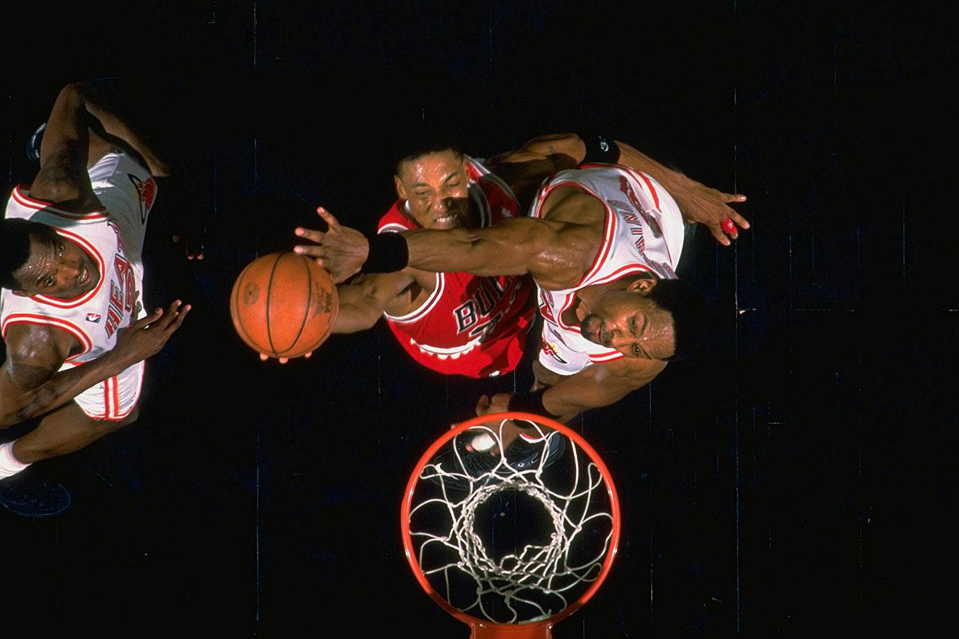 February 23, 1996 —Chicago Bulls vs. Miami Heat