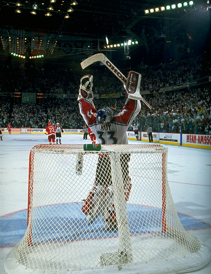 May 25, 1996 — Western Conference Final, Game 4 (Avalanche vs. Red Wings)