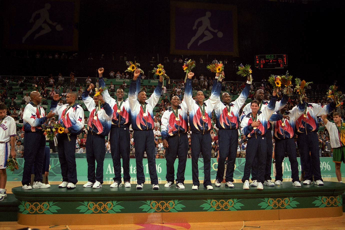 August 3, 1996 — Summer Olympics, Gold Medal ceremony