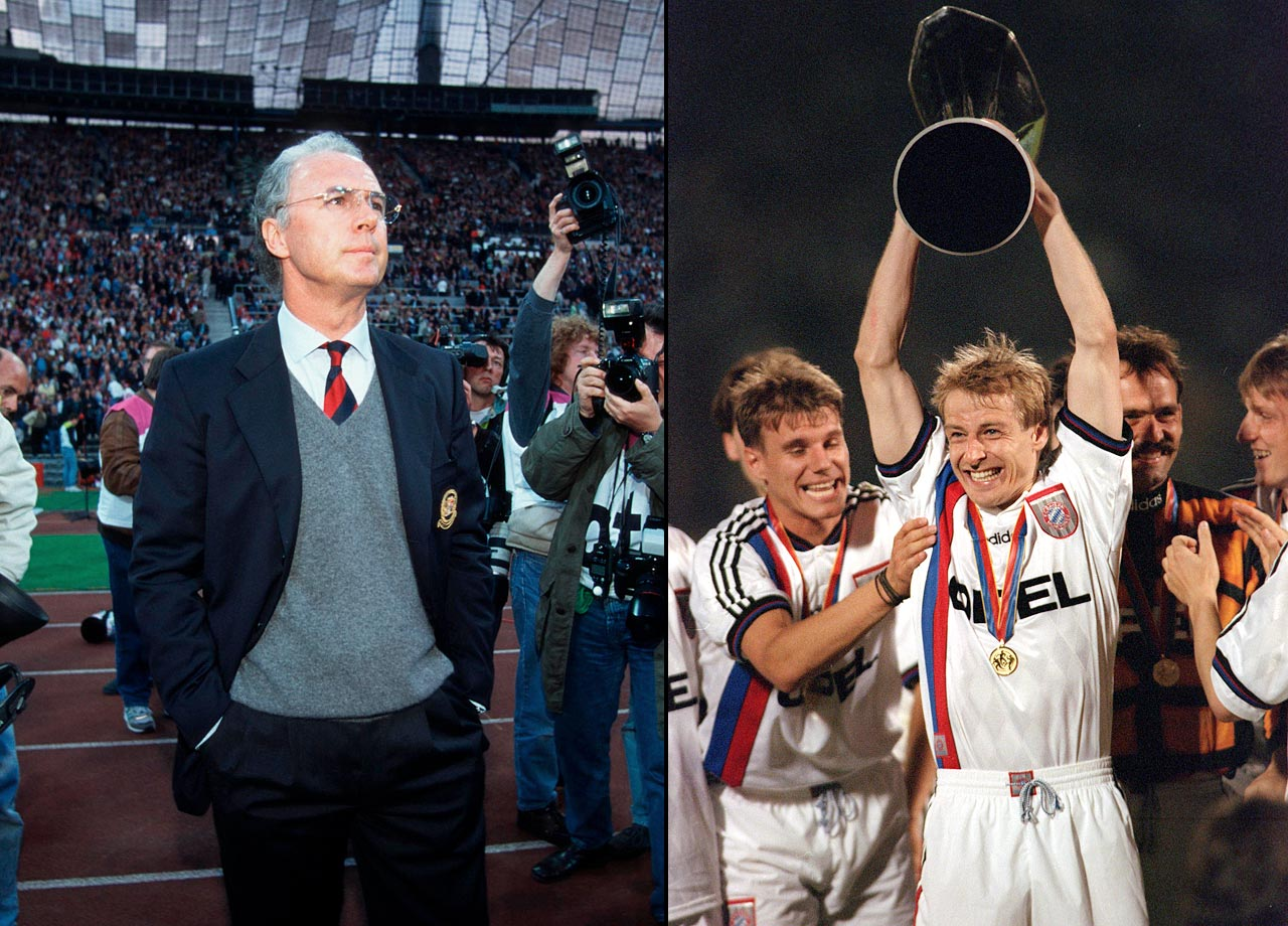 With Franz Beckenbauer as interim manager, Bayern wins the UEFA Cup final against Bordeaux, the only time they have won the competition.