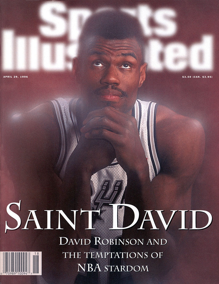 Robinson made the All-NBA and All-Defensive teams in each of his first seven seasons. He's also one of four players in NBA history to record a quadruple-double. ''No center in the history of the game did the athletic things that David did in his prime,'' Spurs coach Gregg Popovich told SI.