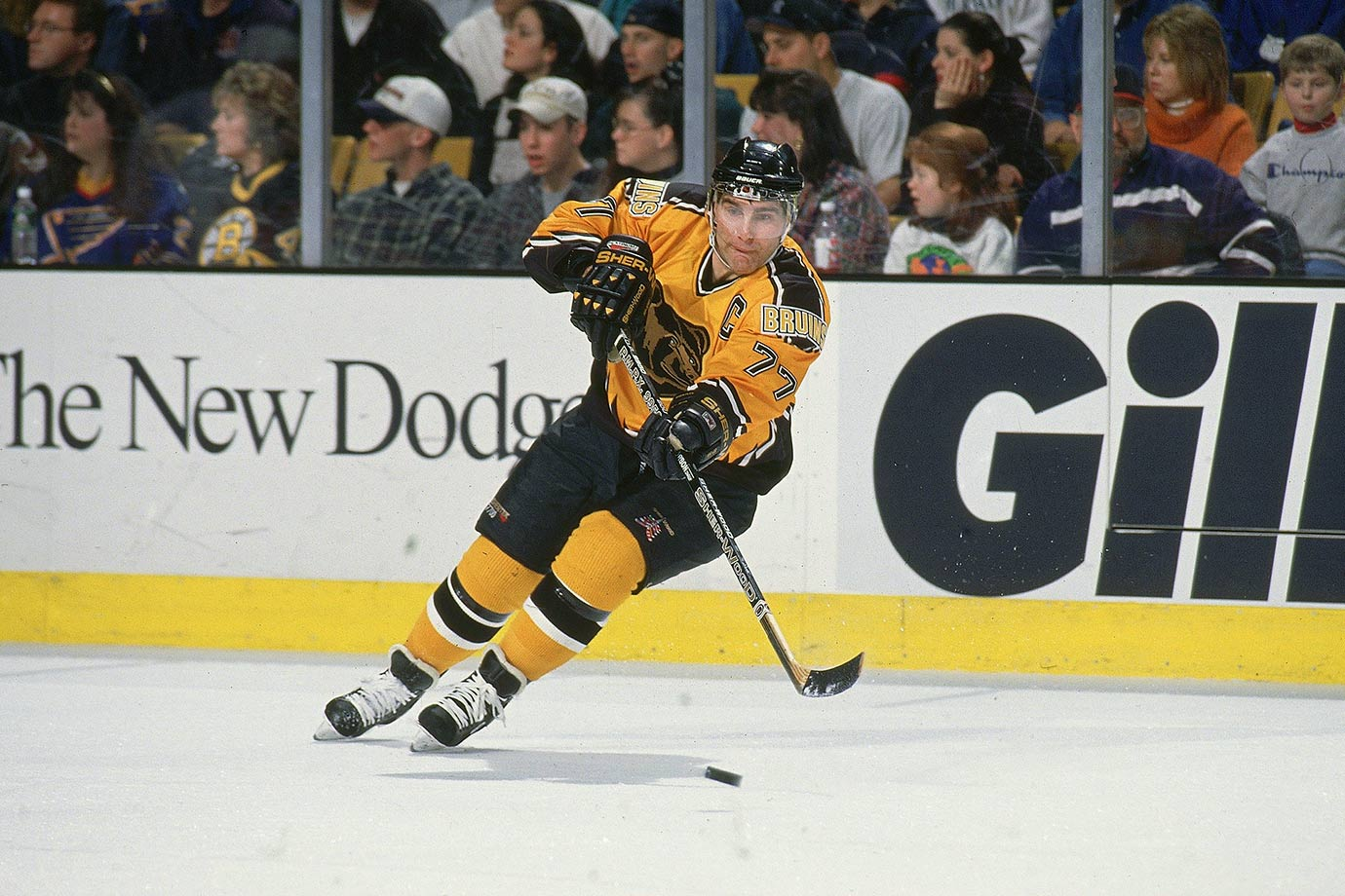 Feb. 8, 1997 — Boston Bruins vs. St. Louis Blues