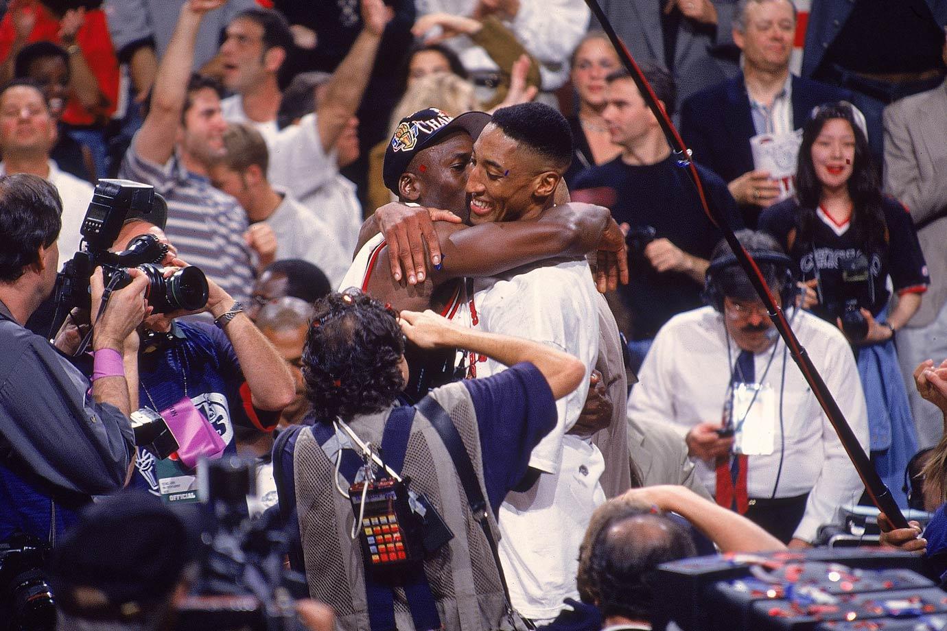 June 13, 1997 — NBA Finals, Game 6