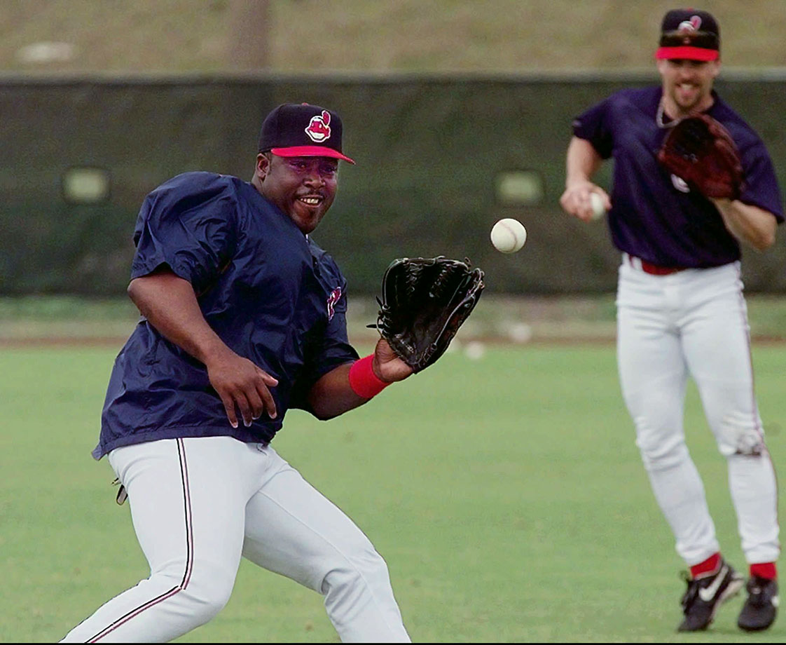 During the 1997 season the two Cleveland teammates got into a beef over music with Mitchell flattening the smaller Curtis on a ping-pong table. Curtis sustained a sprained right thumb as was later traded to the Yankees. Mitchell was cut by the team.