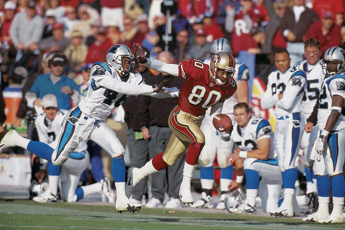Nov. 8, 1998 — San Francisco 49ers vs. Carolina Panthers
