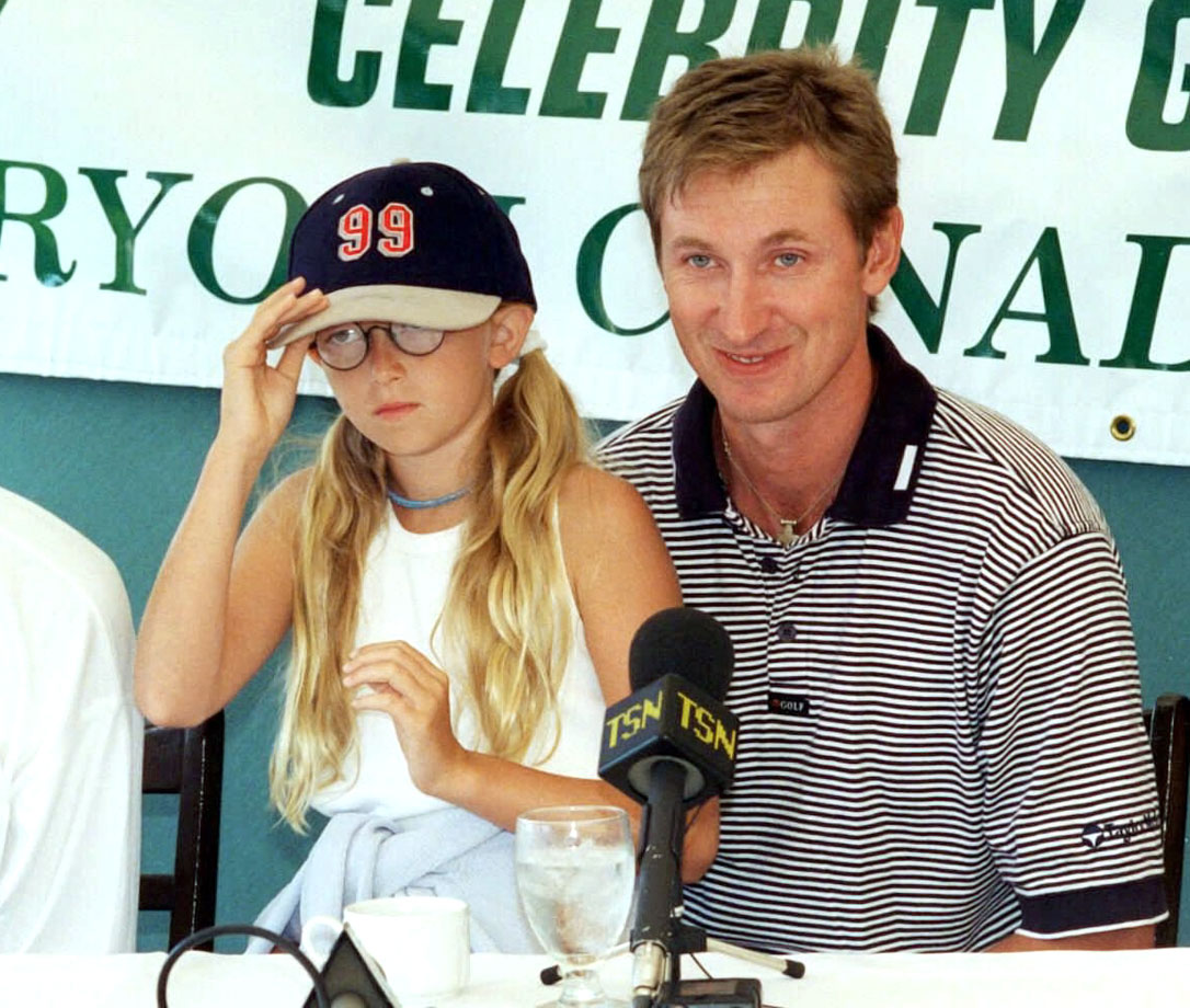Walter Gretzky and daughter Paulina