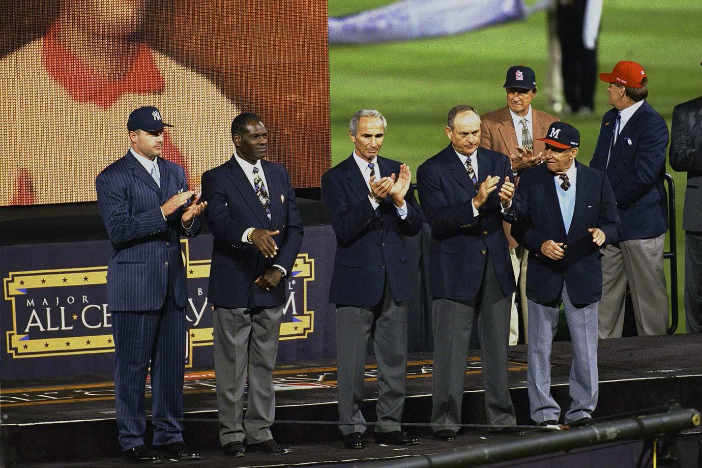 Oct. 24, 1999 — MLB All Century Team (World Series, Game 2)