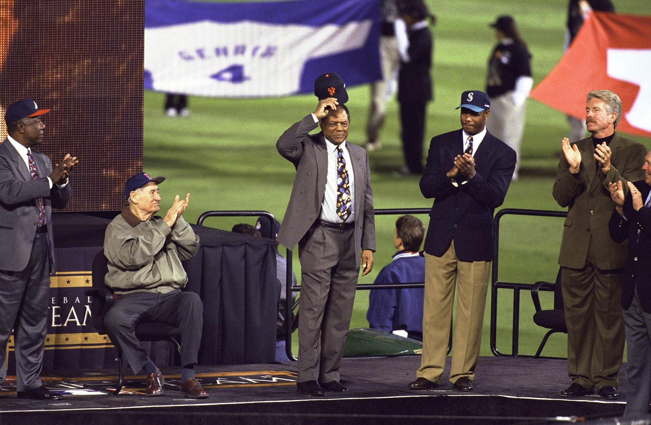 In 1999, still in the prime of his career, Ken Griffey Jr. was voted to major league baseball's 30-man All-Century Team along with Willie Mays, another fun-loving star who was as talented in the field as he was at the plate.