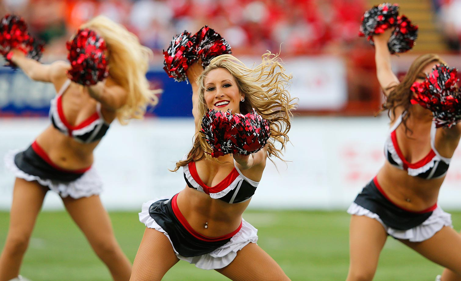 With the 2015 Canadian Football League in full stride in early August, here are some photos of the league's cheerleaders, both past and present.