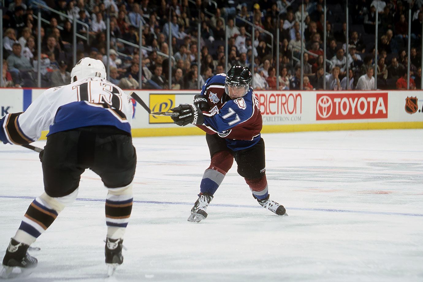 Oct. 17, 2000 — Colorado Avalanche vs. Washington Capitals