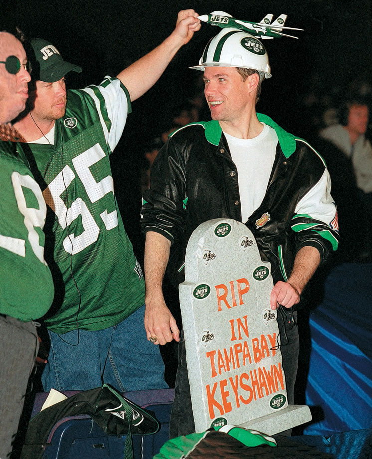 New York Jets fans in 2000.