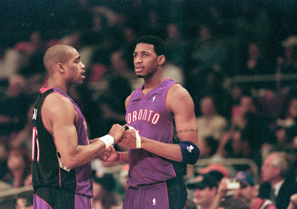 Vince Carter and Tracy McGrady :: Getty Images
