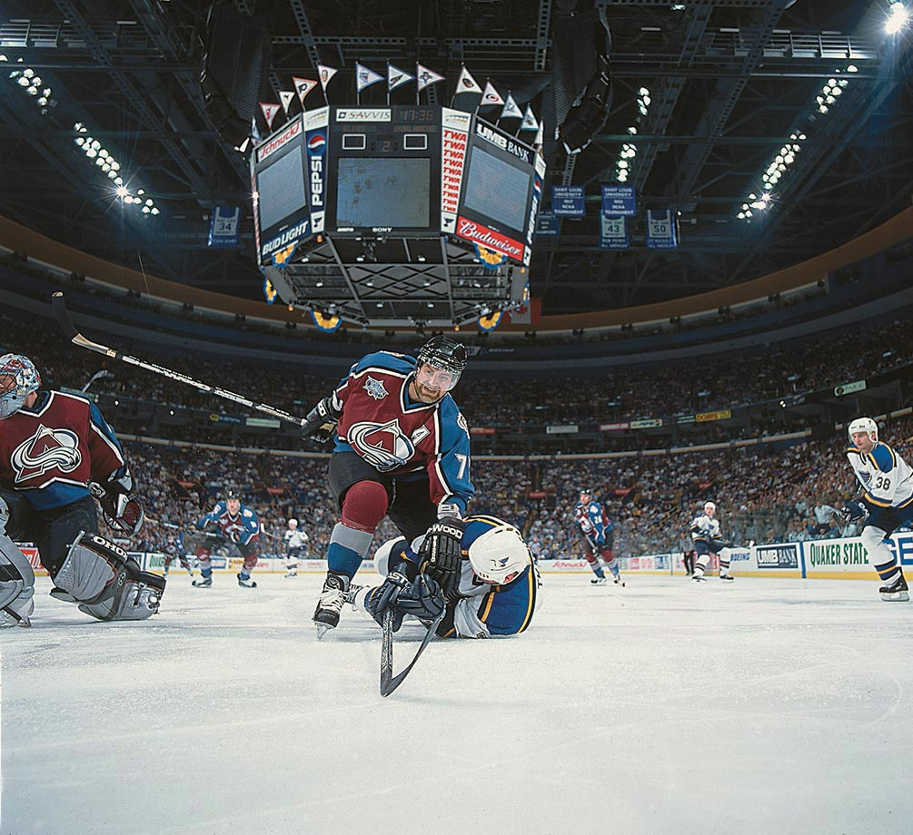 May 18, 2001 — Colorado Avalanche vs. St. Louis Blues, Western Conference Finals, Game 4