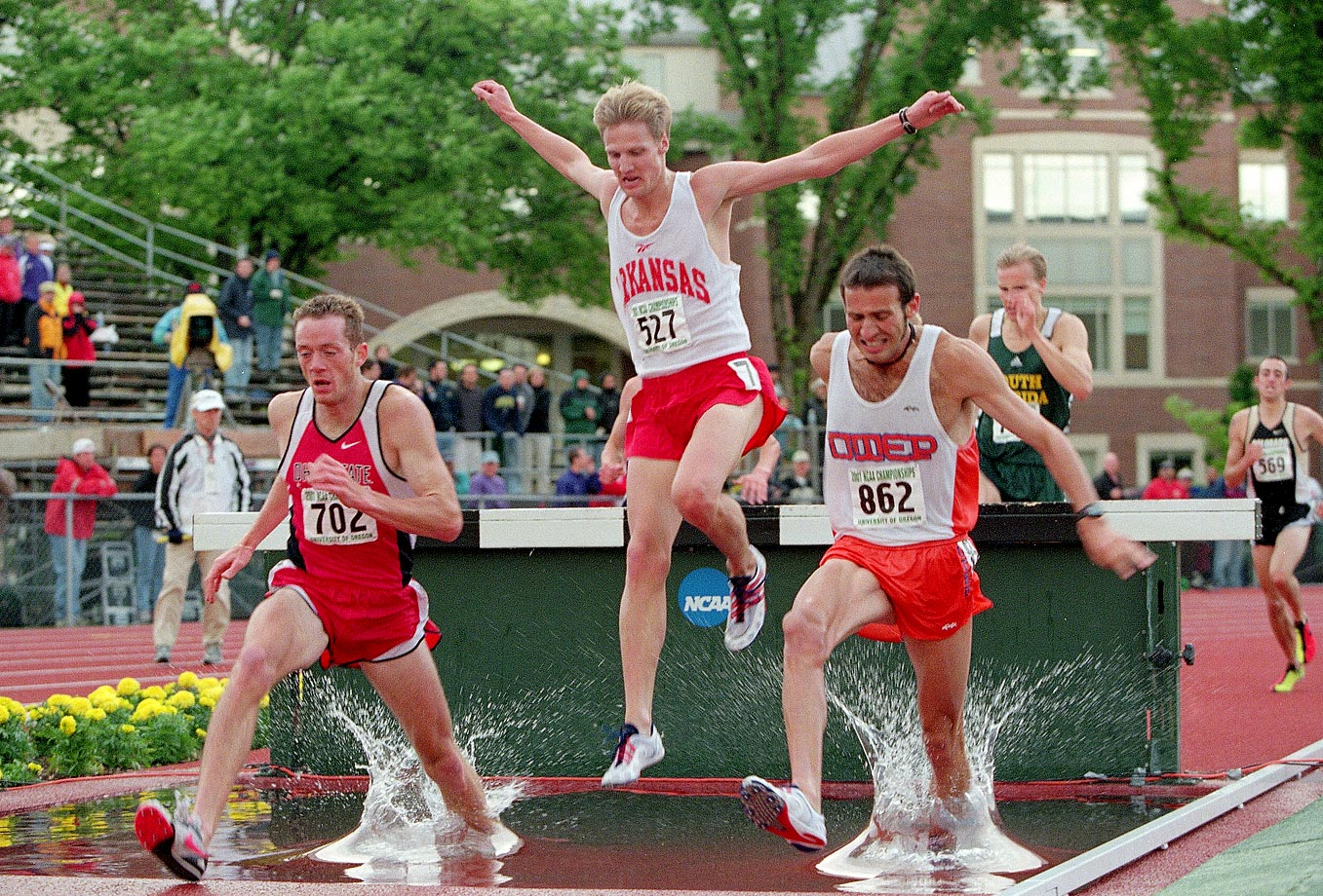 2001 CAA Track & Field Championships.