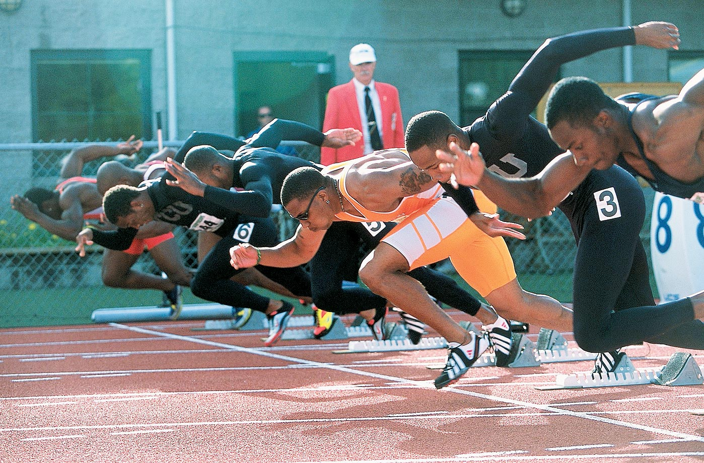 NCAA Track & Field Championships in 2001.
