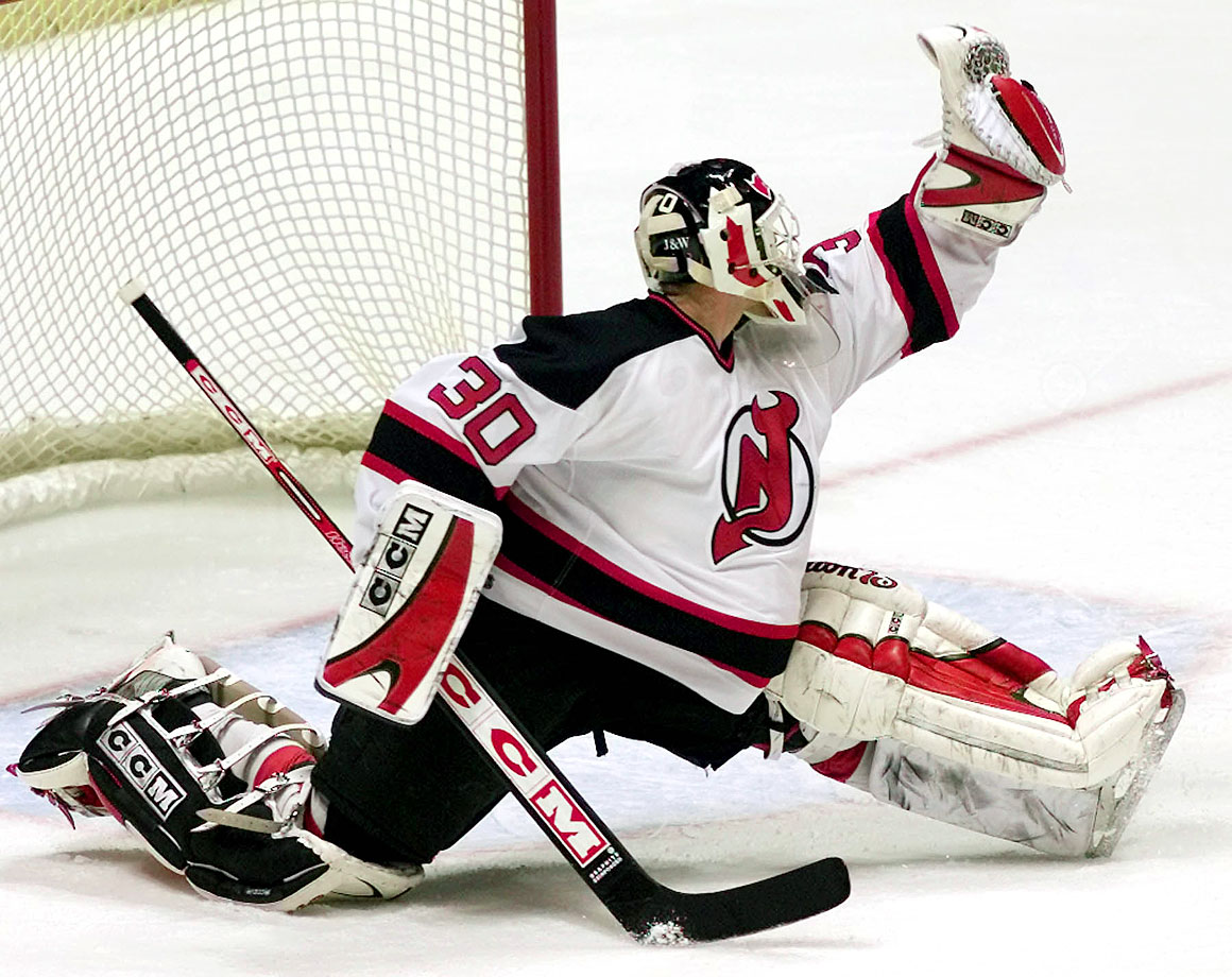 Leading the NHL with 73 appearances in 2001-02, Brodeur became the third-fastest goaltender to reach 300 career wins when he beat Ottawa 2-0 on Dec. 15, 2001.