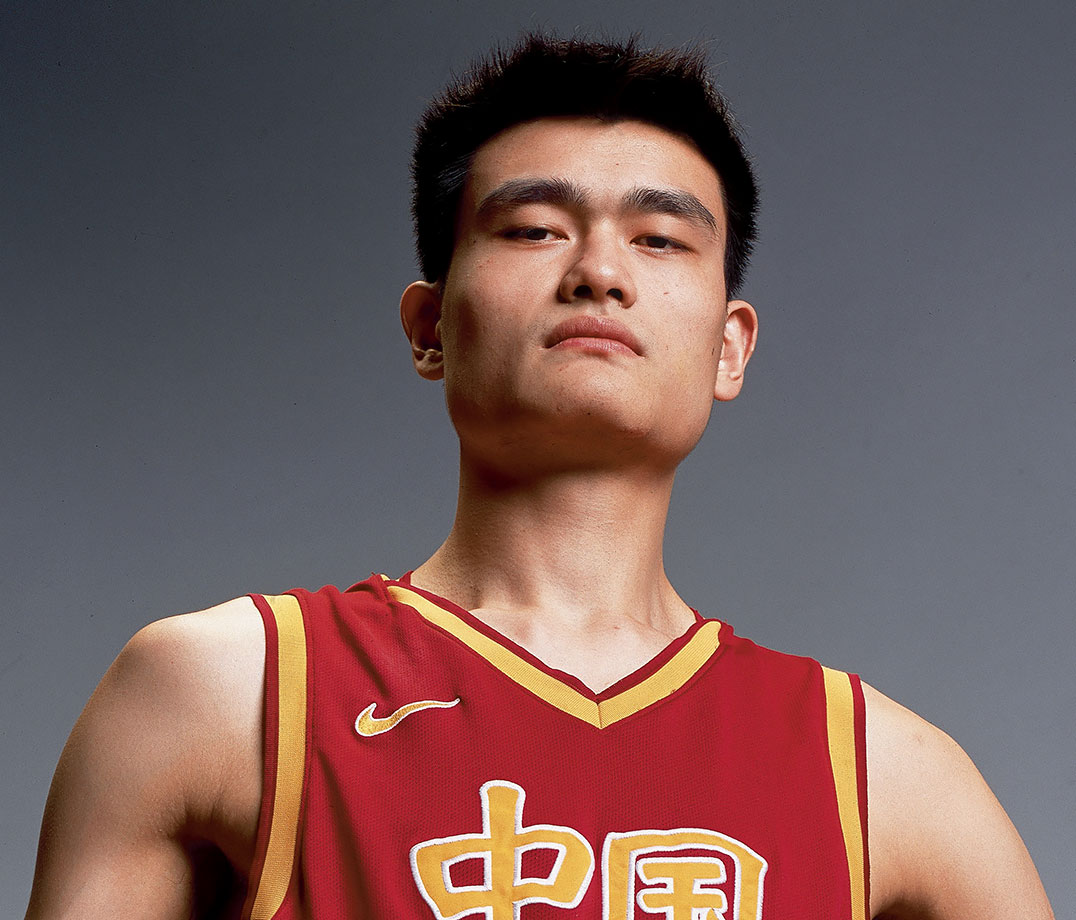 yao ming Yao ming he was larger than life, and on opposite sides of the world, the man who stretched seven-and-a-half feet into space changed the face of basketball forever.