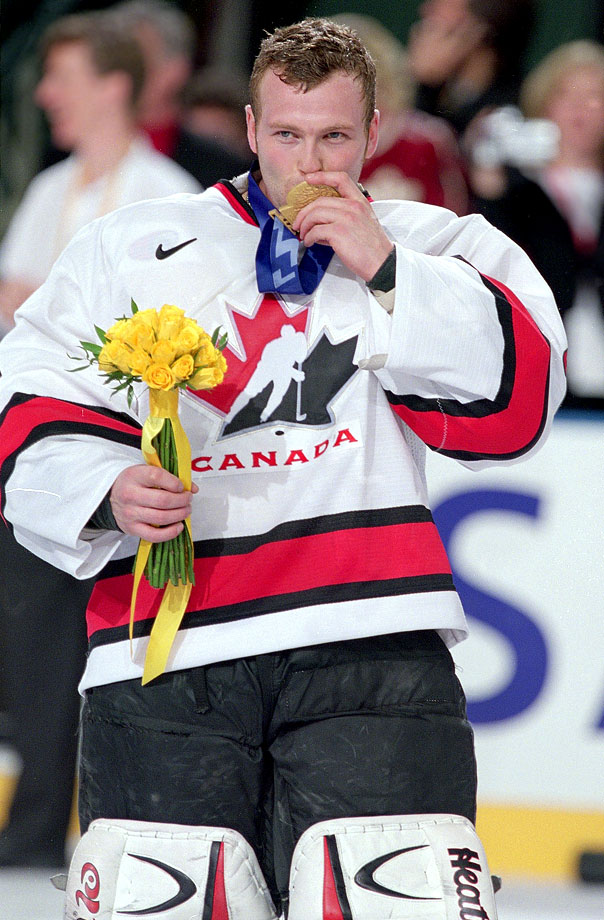 Like his father, Martin has represented Canada in international play, most notably winning the gold medal at the 2002 Winter Games in Salt Lake City after posting a 4-0-1 mark with a 1.80 GAA in the tournament. It was the second of his four Olympic stints (he did not see action in 1998). He was also a member of Canada's 1996 and 2005 World Championship teams and '97 and '05 World Cup teams.