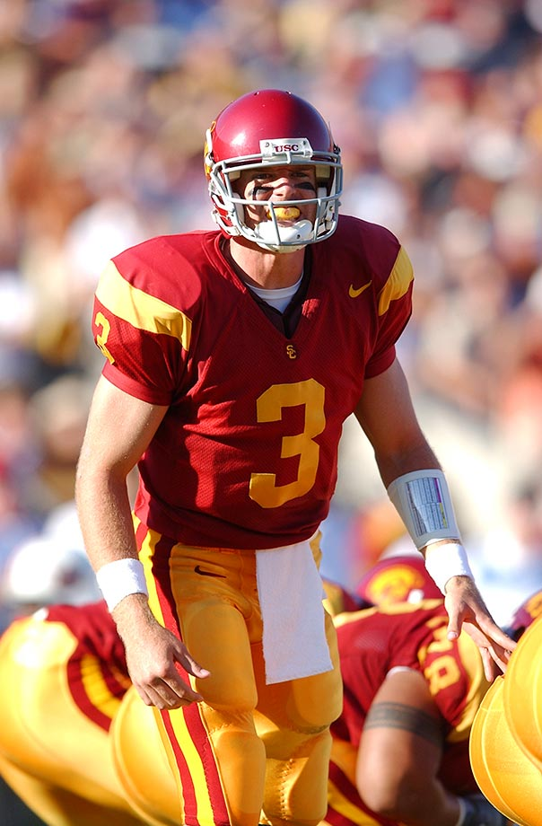 Palmer threw 72 touchdown passes across 53 games at USC from 1998 through 2002. He also ran for nine scores.