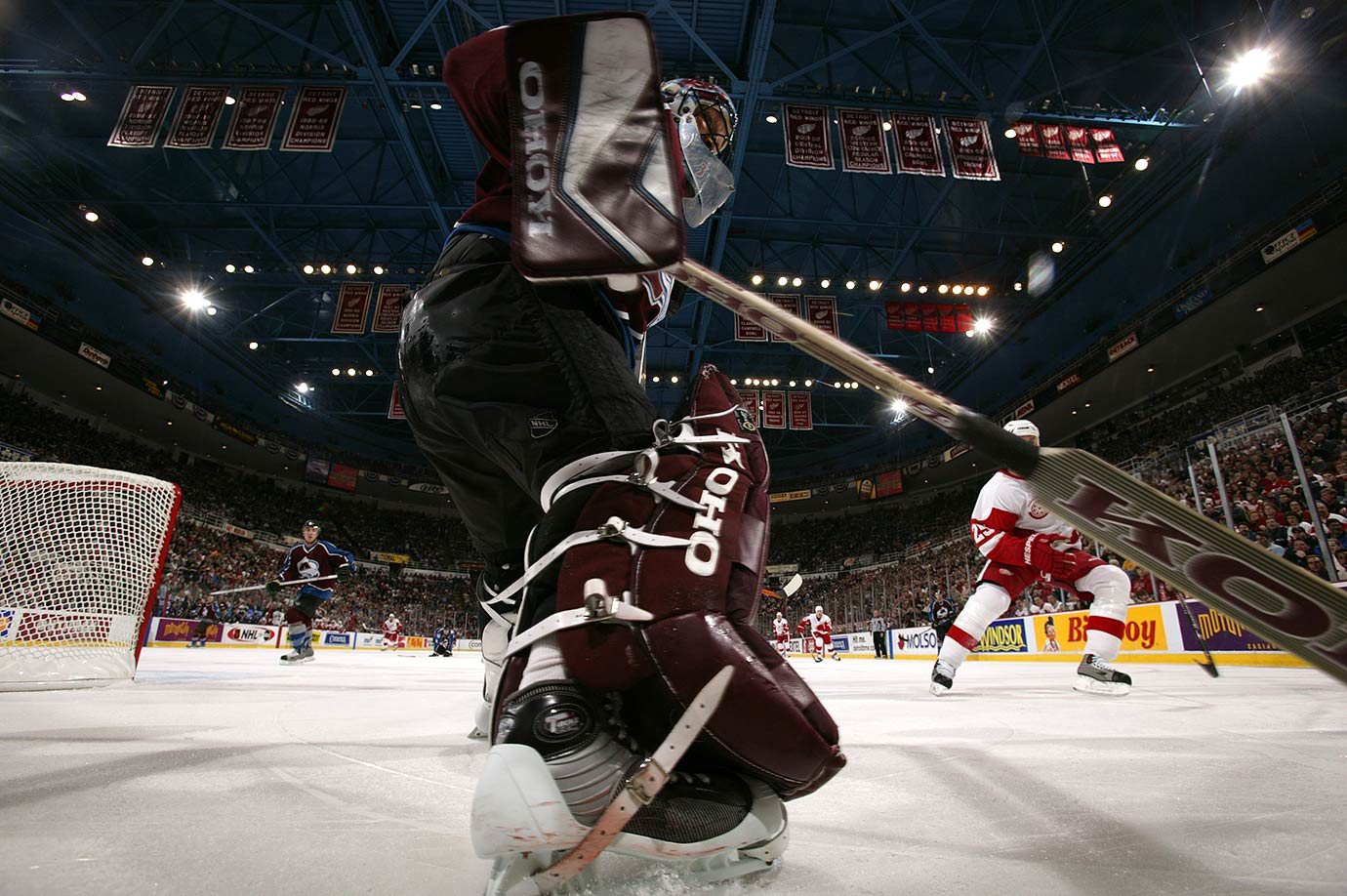 March 15, 2003 — Avalanche vs. Red Wings