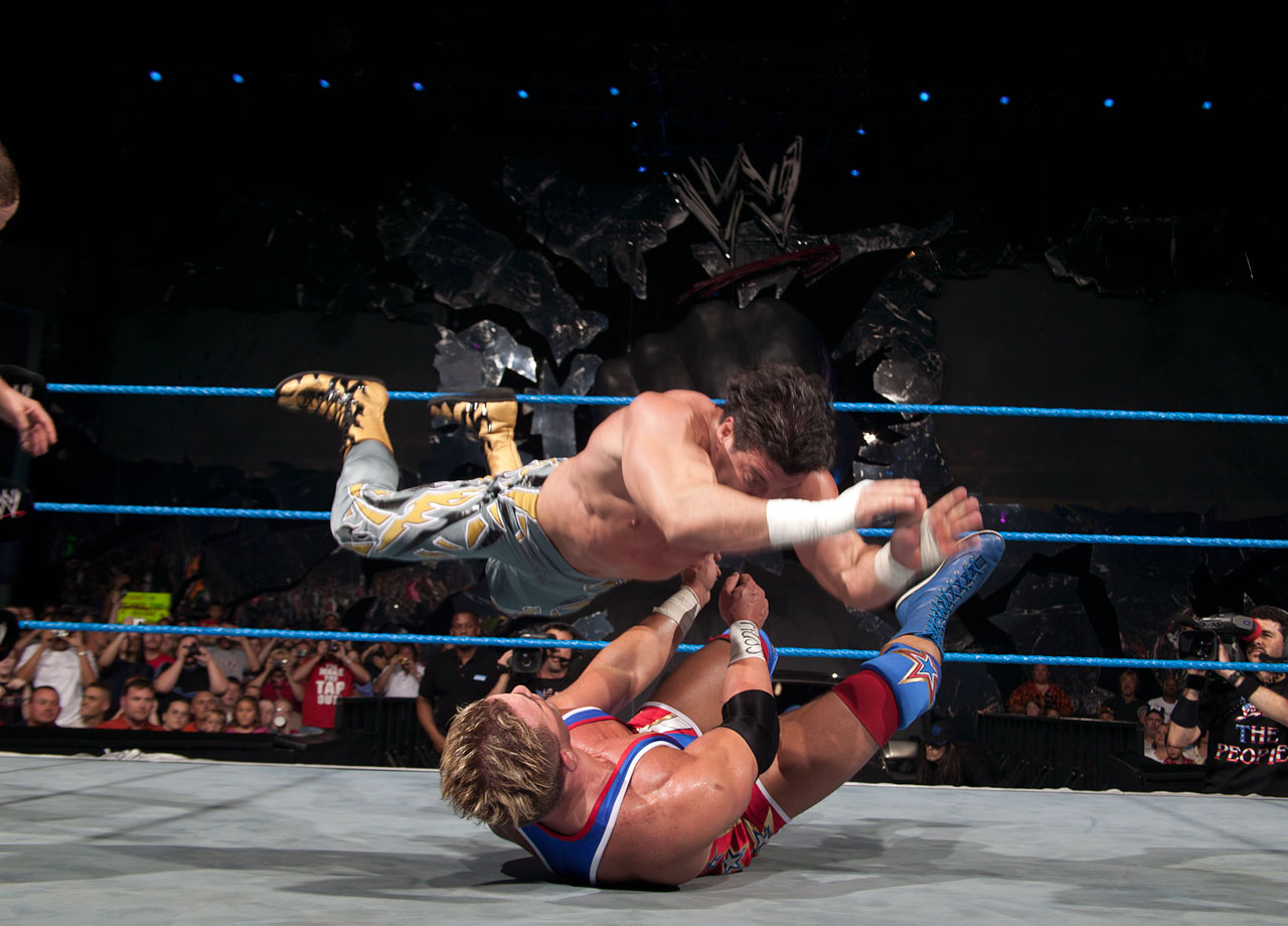 Team Angle (Charlie Haas and Shelton Benjamin) fails to recapture the WWE Tag Team Championship from Eddie Guerrero and Tajiri.