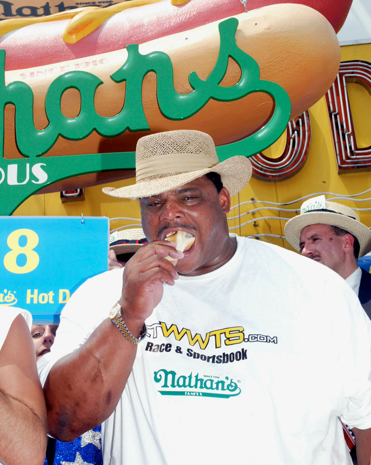 July 4, 2003 — Nathan's Famous Hot Dog Eating Contest