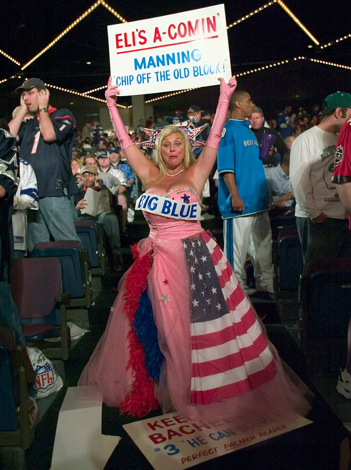 New York Giants fan in 2004.