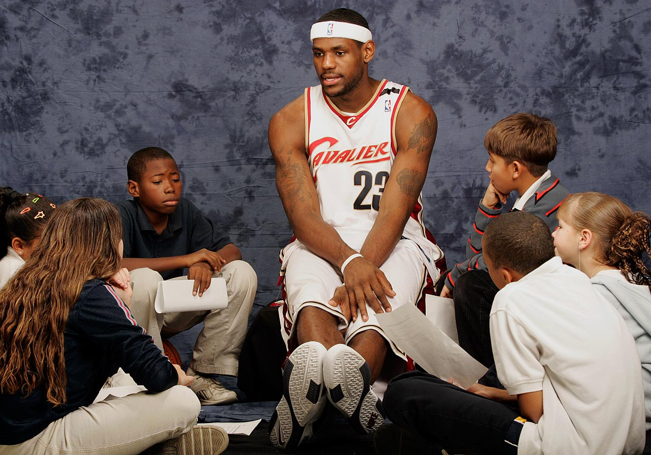 James' kid-friendly image has been shaped by his life as a father. He has three children with his high school sweetheart Savannah Brinson — LeBron Jr., Bryce Maximus, and Zhuri.