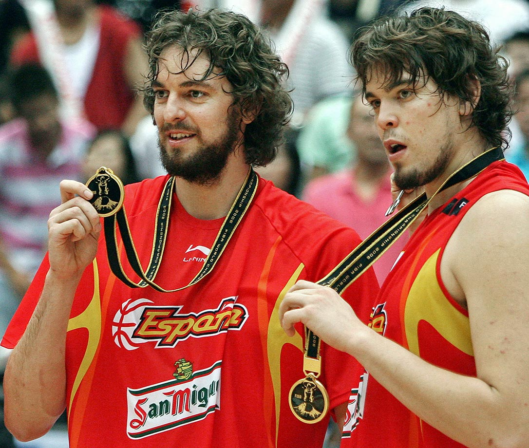 World Basketball Championship — Spain vs. Greece