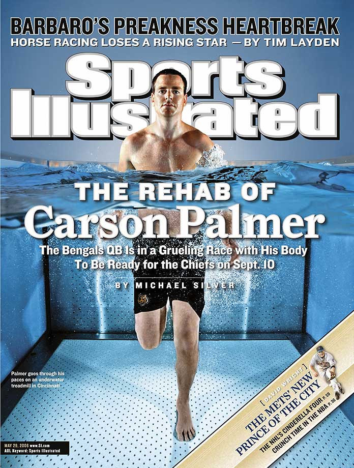 Palmer's rehabilitation process landed him on the cover of SI again.