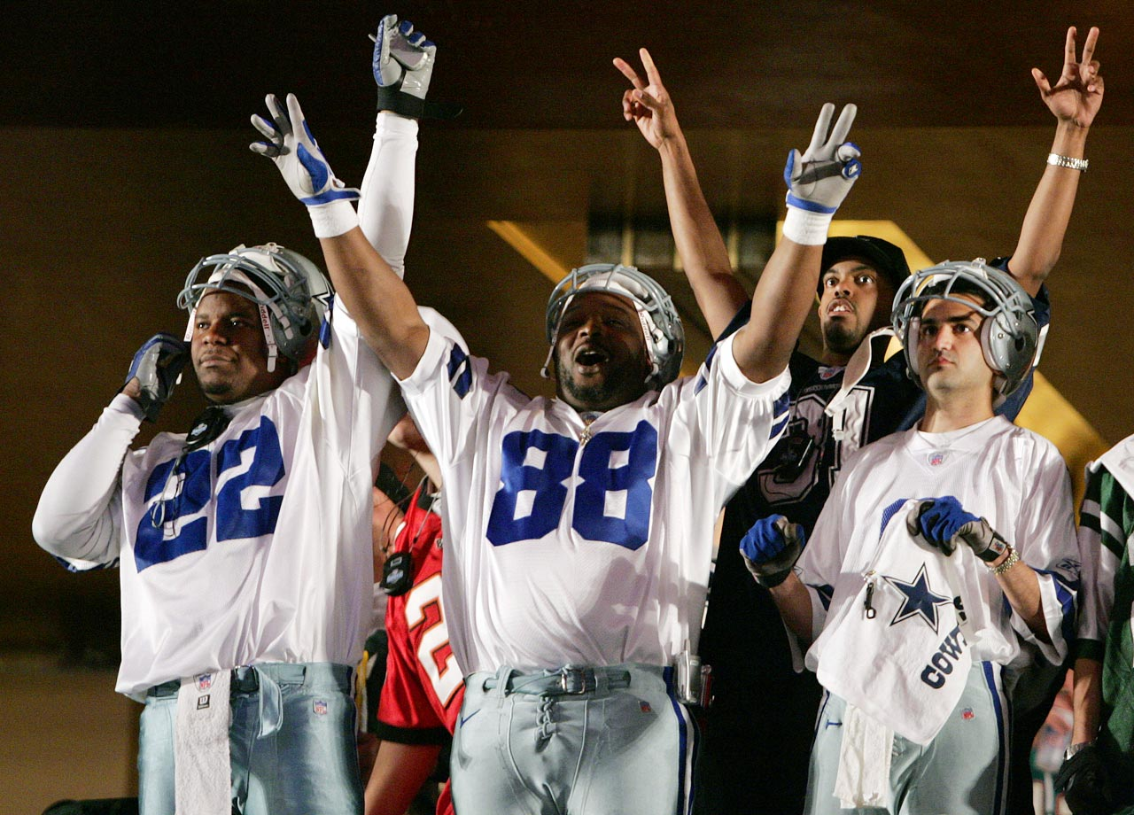 Dallas Cowboys fans in 2006.