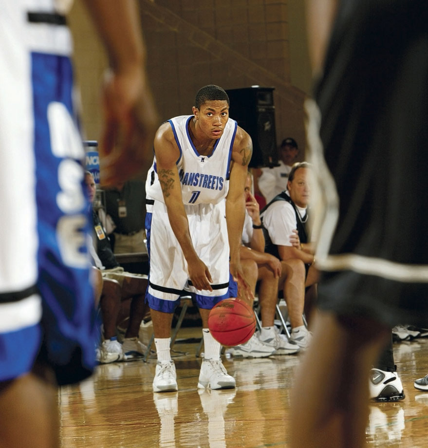 After his junior year of high school, Derrick Rose already had a Class AA championship and Tournament MVP under his belt.