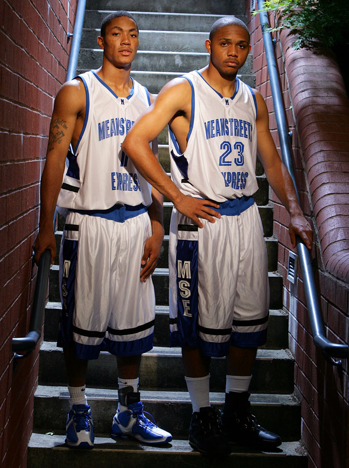 During the summers, Derrick Rose and Eric Gordon — then an Indiana prep star — locked down the backcourt of the MeanStreets Express, leading the AAU team to the 2006 Nike Peach Jam championship, an invitation-only tournament for the country's finest teams.