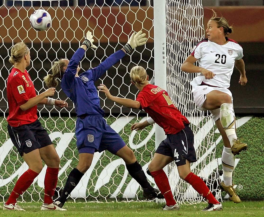 Sept. 22, 2007 — World Cup, USA vs. England