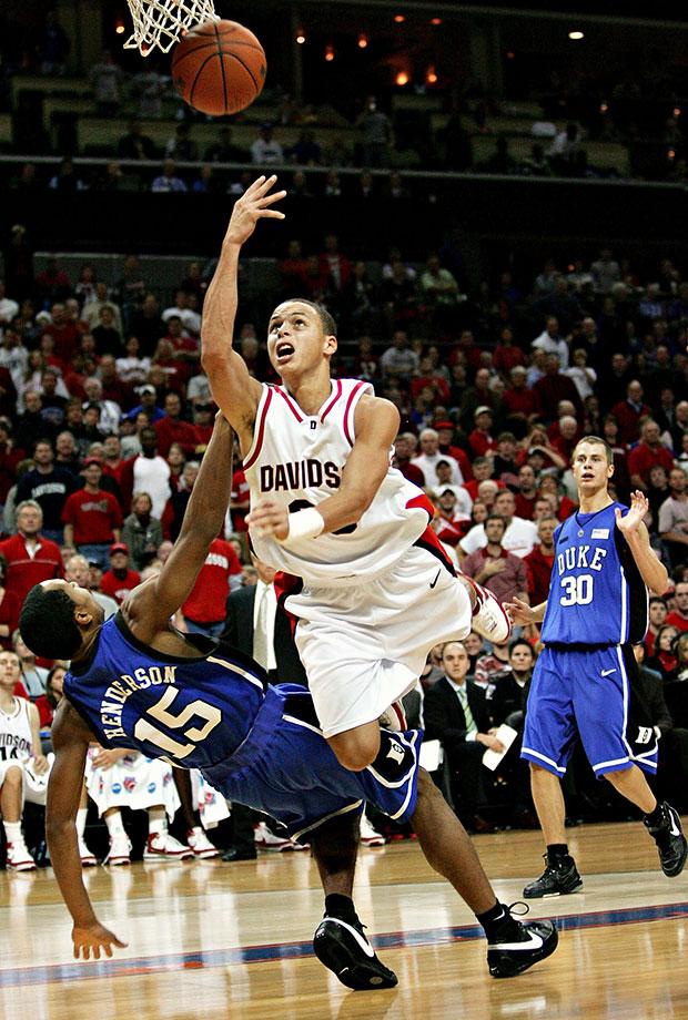 Dec. 1, 2007 —Davidson vs. Duke